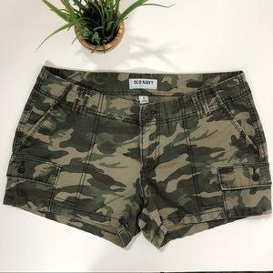 Old Navy Camo Cargo Shorts 6